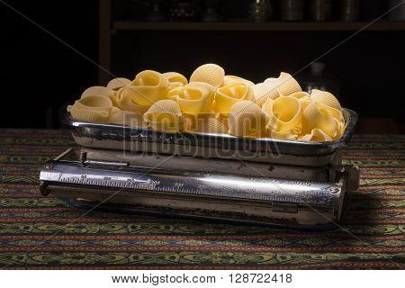 Pasta In A Scale
