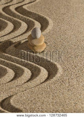 Pyramid On The Sand..