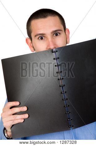 Business Training - Nervoous Man