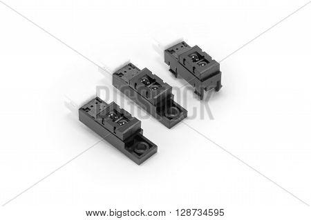 Closed up Photomicrosensor - slot sensor or light sensor