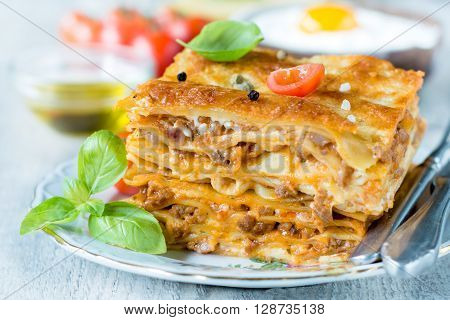 Lasagna Time