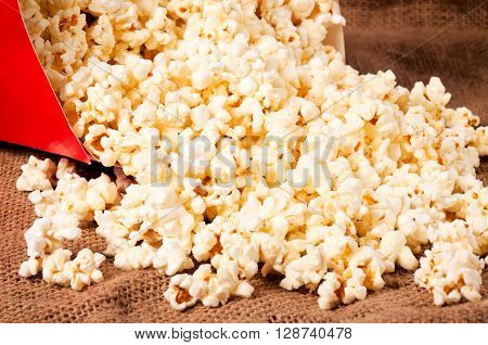 Splashed Pop Corn