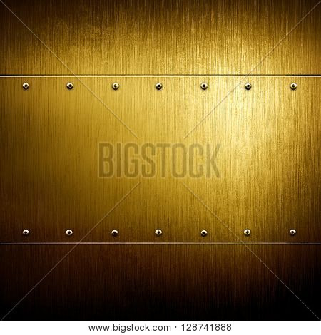 golden iron template background