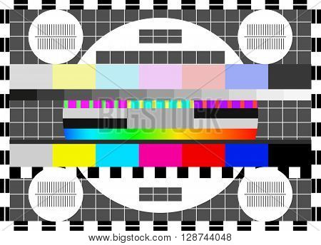 Glitch digital image data distortion. The loss of the television signal corrupted image. Chaos aesthetics of signal error. Digital decay. Digital background .