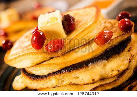 Glazed Pancakes