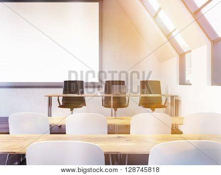Classroom Interior Toning