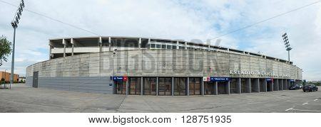 Butarque Stadium Leganes Panoramic View