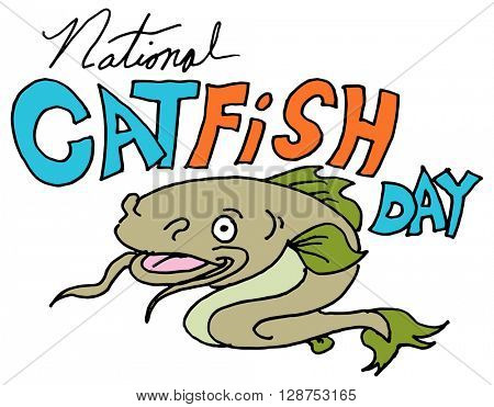 An image of a national catfish day.