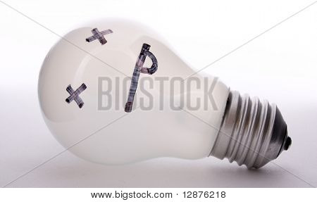 the bulb has fused