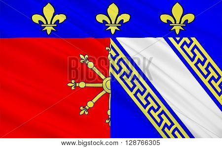 Flag of Chaumont is a commune of France and the capital of the Haute-Marne department.