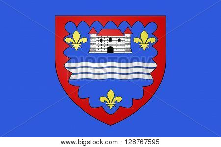Flag of Indre is a department in the centre of France named after the river Indre. The inhabitants of the department are called Indriens.