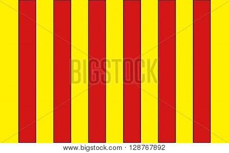 Flag of Langon is a commune in the Gironde department in Aquitaine in southwestern France