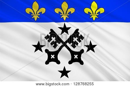 Flag of Lisieux is a commune in the Calvados department in the Normandy region in northwestern France. It is the capital of the Pays d'Auge area