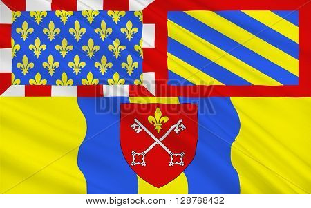 Flag of Louhans is a commune in the Saone-et-Loire department in the region of Bourgogne in eastern France. Louhans is the capital of Bresse bourguignonne and a subprefecture of the department.