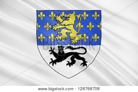 Flag of Mamers is a commune in the Sarthe department in the region of Pays-de-la-Loire in north-western France