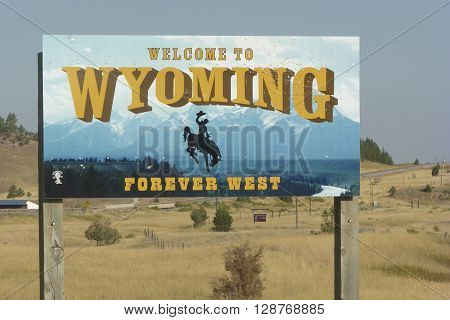 Welcome to Big Wonderful Wyoming Forever West sigb