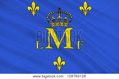 Flag of Montargis is a commune in the Loiret department in north-central France on the Loing river