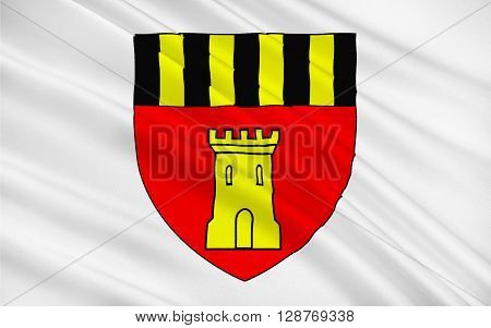 Flag of Montmorillon is a commune in the Vienne department in the Poitou-Charentes region in western France.