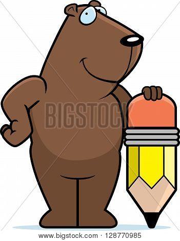 Groundhog Pencil
