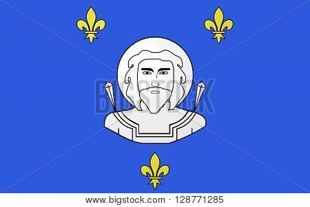 Flag of Saint-Quentin is a commune in the Aisne department in Picardy in northern France.
