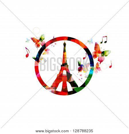 PARIS, FRANCE - NOV 13, 2015: Support for France