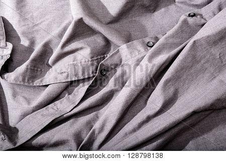 A Closeup photo of some dark cloth.