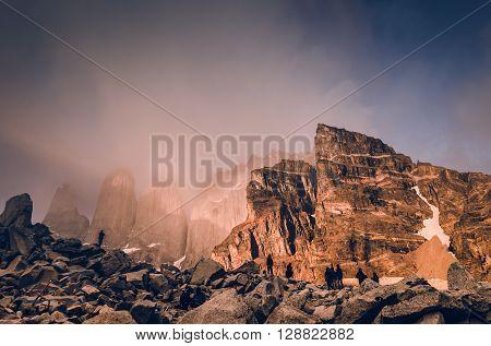 Las Torres mirador, Torres del Paine, Chile