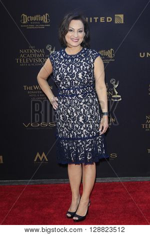 LOS ANGELES - APR 29: Kathleen Bedoy at The 43rd Daytime Creative Arts Emmy Awards Gala at the Westin Bonaventure Hotel on April 29, 2016 in Los Angeles, California
