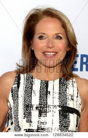 LOS ANGELES - MAY 3:  Katie Couric at the Under the Gun Premiere at the Samuel Goldwyn Theater on May 3, 2016 in Beverly Hills, CA