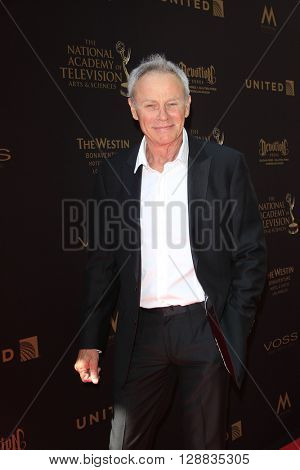 LOS ANGELES - May 1: Tristan Rogers at The 43rd Daytime Emmy Awards Gala at the Westin Bonaventure Hotel on May 1, 2016 in Los Angeles, California
