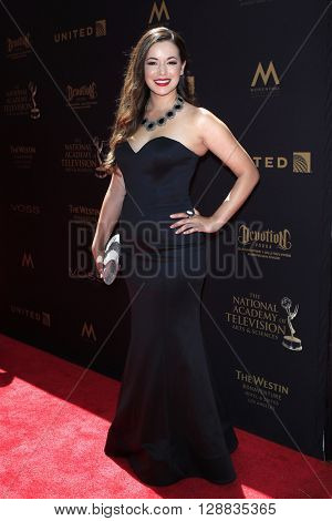 LOS ANGELES - May 1: Teresa Castillo at The 43rd Daytime Emmy Awards Gala at the Westin Bonaventure Hotel on May 1, 2016 in Los Angeles, California