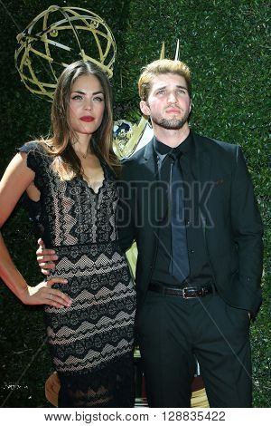 LOS ANGELES - May 1: Kelly Thiebaudl, Bryan Craig at The 43rd Daytime Emmy Awards Gala at the Westin Bonaventure Hotel on May 1, 2016 in Los Angeles, California