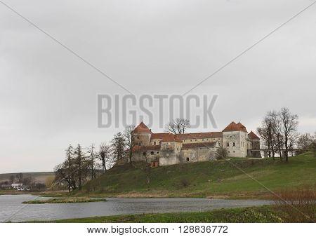 Ancient castle in the Western Ukraine. Europe