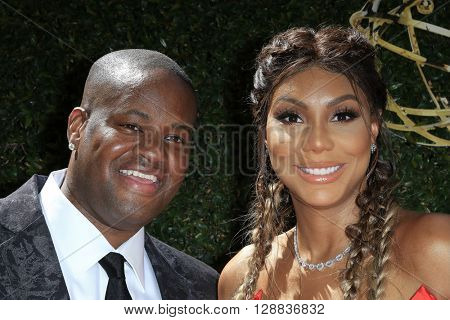 LOS ANGELES - May 1: Vincent Herbert, Tamar Braxton at The 43rd Daytime Emmy Awards Gala at the Westin Bonaventure Hotel on May 1, 2016 in Los Angeles, California