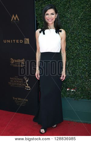 LOS ANGELES - May 1: Finola Hughes at The 43rd Daytime Emmy Awards Gala at the Westin Bonaventure Hotel on May 1, 2016 in Los Angeles, California