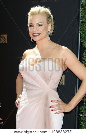 LOS ANGELES - May 1: Jessica Collins at The 43rd Daytime Emmy Awards Gala at the Westin Bonaventure Hotel on May 1, 2016 in Los Angeles, California