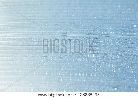 Water drops on the background. Condensate. Aqua background. Water drops background.