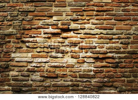 Grunge brick wall texture for your background.