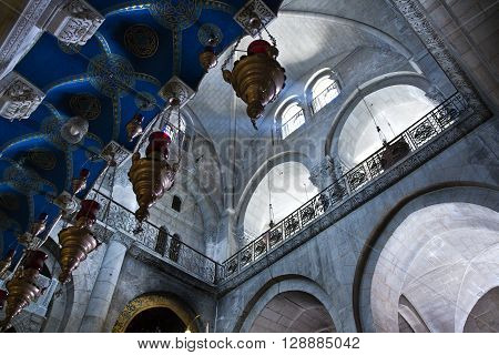 Israel Jerusalem the Church of the Holy Sepulchre