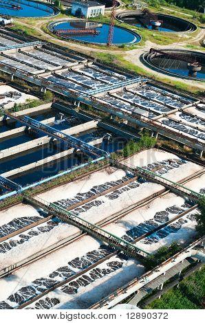 Sewage water plant