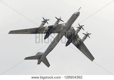 Soviet Strategic Bomber Tupolev Tu-95