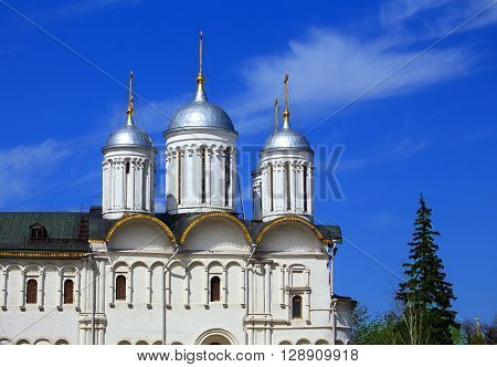 Patriarchal Chambers and Church of the Twelve Apostles in Moscow Kremlin
