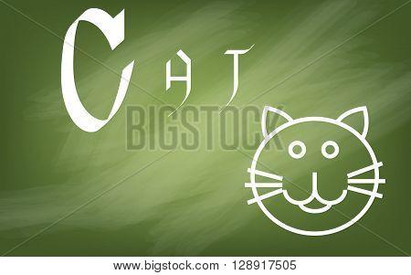 Illustration Of Alphabet