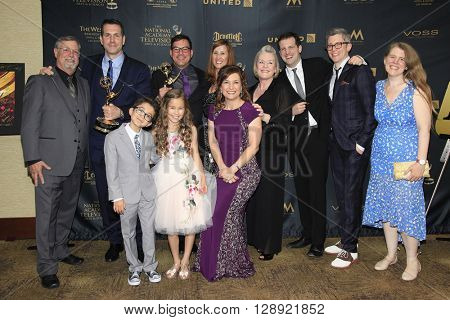 LOS ANGELES - May 1: General Hospital, Frank Valenti at The 43rd Daytime Emmy Awards Gala at the Westin Bonaventure Hotel on May 1, 2016 in Los Angeles, California