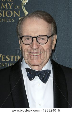 LOS ANGELES - May 1: CBS Sunday Morning, Charles Osgood at The 43rd Daytime Emmy Awards Gala at the Westin Bonaventure Hotel on May 1, 2016 in Los Angeles, California