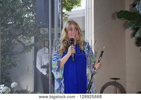 PALM SPRINGS - APR 27: Blair Tindall at a cultivation event for The Actors Fund at a private residence on April 27, 2016 in Palm Springs, California