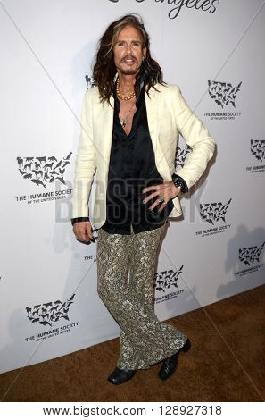 LOS ANGELES - MAY 7:  Steven Tyler at the Humane Society Of The United States LA Gala at the Paramount Studios on May 7, 2016 in Los Angeles, CA