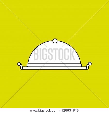 tray icon design, vector illustration eps10 graphic