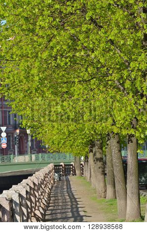 Came the warm weatherblossoming leaves on the treesand the city became even more beautiful.