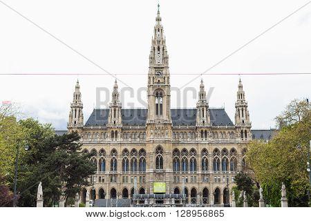 Vienna's Town Hall (rathaus). Austria.